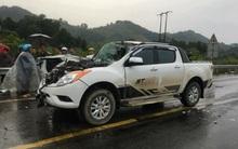 Tai nạn nghiêm trọng trên cao tốc Nội Bài - Lào Cai, 2 bố con thương vong