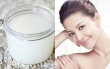Đừng bỏ nước vo gạo, dùng đúng cách như Geisha Nhật thì cũng tốt ngang ngửa serum dưỡng da
