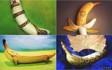 Nếu nghĩ quả chuối chỉ để ăn thì bạn sẽ ngạc nhiên sau khi xem những hình ảnh này