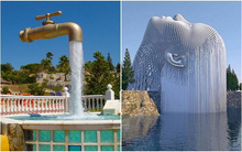 Những đài phun nước đẹp đến nghẹt thở khiến bạn không tin vào mắt mình