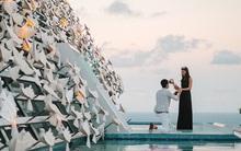 """Không phải đại gia tỷ phú nhưng chàng trai này vẫn dụng tâm cầu hôn người yêu tại resort """"oách"""" nhất nhì Bali"""