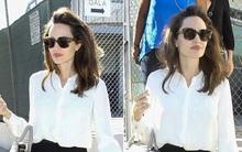 Sống độc thân, Angelina Jolie vẫn cuốn hút với phong cách thanh lịch, quý phái
