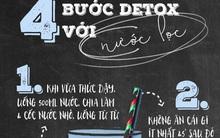Học người Nhật detox chỉ bằng nước lọc: thải độc, da đẹp, dáng thon