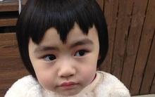 Bị mẹ ngăn cản, cô bé 5 tuổi vẫn kiên quyết cắt tóc răng cưa để giống thần tượng Maruko