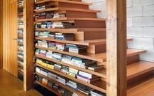 20 thiết kế giá sách kết hợp với cầu thang vô cùng đẹp mắt