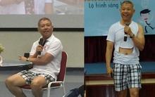 Phó HT ĐH Hoa Sen mặc quần đùi, áo thun trong giảng bài:
