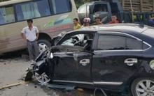 Tuyên Quang: Tai nạn liên hoàn khiến 5 người nhập viện, quốc lộ 37 ùn tắc