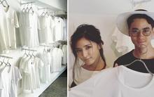 Cửa hàng chỉ bán áo phông trắng, còn