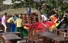Tây Ban Nha: Lâu đài bơm hơi phát nổ, 7 em nhỏ thương vong