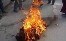 Vụ tẩm xăng đốt vợ tử vong: Bi kịch của gã chồng si tình
