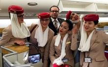 Phía sau vẻ sang chảnh của cô gái Việt làm tiếp viên hãng hàng không quốc tế