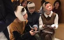 Sự thật về bức ảnh 3 cô gái sang Hàn