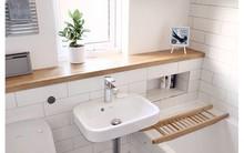Phòng tắm nhỏ trở nên đáng yêu nhờ bài trí theo những cách này!