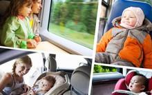 18 quy tắc an toàn bố mẹ cần nhớ để tránh các tai nạn nguy hiểm cho con khi đi xe buýt, taxi, ô tô riêng