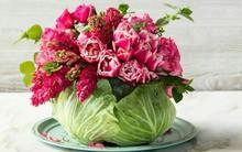 Những cách cắm hoa đơn giản giúp căn nhà từ buồn tẻ trở nên vô cùng sinh động