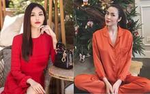"""Sao Việt đua nhau diện sắc cam, sắc đỏ """"từ trong nhà ra ngoài phố"""" chào đón mùa lễ hội"""