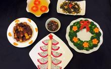Mẹ Tít chia sẻ thực đơn thuần Việt ngập sắc màu Noel siêu dễ thương