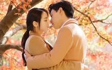Địch Lê Nhiệt Ba đốn tim fan với cảnh hôn giữa mùa thu vàng rực