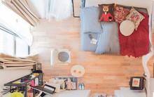 Căn hộ tí hon chưa đầy 20m² vừa đẹp, vừa gọn dù nhiều đồ nhờ sự bố trí nội thất rất thông minh của nữ nhiếp ảnh trẻ
