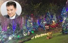 Ngắm biệt thự triệu đô của Đàm Vĩnh Hưng được trang trí đẹp lung linh đón Noel về