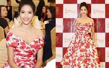 Lần đầu tiên thấy Hoàng Thùy diện váy hoa điệu đà và trang điểm nhẹ nhàng nữ tính thế này