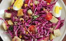 Salad bắp cải tím món ăn