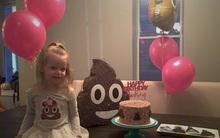 Không phải Elsa hay công chúa, bé gái 3 tuổi này chỉ muốn tổ chức sinh nhật theo chủ đề... cục phân