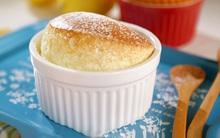 Souffle chanh gừng - món bánh xốp mịn nhẹ như mây