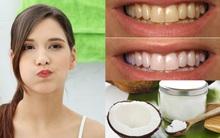 Không chỉ dùng dầu tẩy trang, bây giờ người ta còn phải súc miệng bằng dầu để trắng răng, thơm miệng nữa