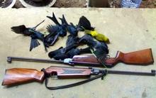 Vác súng hơi bắn chim, viên đạn bay trúng đầu bé trai đang ngồi học bài