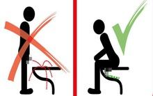Hãy học người Đức: Muốn làm một quí ông lịch sự, hãy ngồi xuống khi đi tiểu