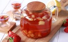 Không chỉ ngon thôi đâu, món trà trái cây này còn giúp bạn thanh lọc cơ thể siêu hiệu quả đấy
