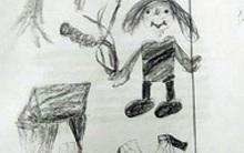 Bức vẽ của bé gái 10 tuổi vạch trần tội ác không thể dung thứ của chú ruột