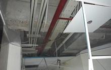 Hà Nội: Giông lốc làm sập trần thạch cao một chung cư trên đường Lê Trọng Tấn