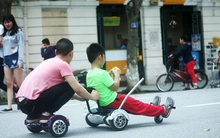 Hà Nội: Xe điện tự hành