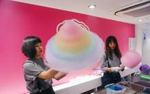 Chiêm ngưỡng chiếc kẹo bông khổng lồ ở Nhật Bản khiến ai nhìn cũng thích thú