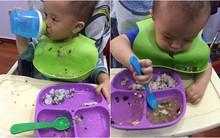 Mẹ 8X chia sẻ kinh nghiệm tập cho con tự cầm thìa xúc ăn hết bữa từ 9 tháng tuổi