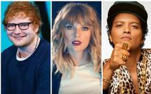 Taylor Swift trượt giải ở cả 2 đề cử, Ed Sheeran, Bruno Mars thắng lớn tại Grammy 2018