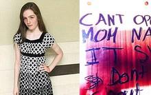 """Cô gái 16 tuổi chết đói, cảnh sát điều tra phát hiện dòng chữ rợn người """"không mở cửa sổ được đâu, mẹ đã đóng đinh rồi"""""""