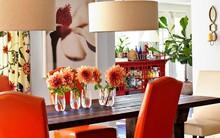 Ghé thăm ngôi nhà rực rỡ sắc màu của mùa Xuân