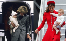 Những điểm chung thú vị trong cách nuôi dạy con của Công nương Diana và Kate Middleton