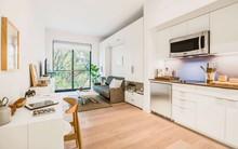 Diện tích chỉ khoảng 25m², căn hộ này đã khiến cho nhiều người không khỏi ngỡ ngàng vì sự tiện nghi của nó