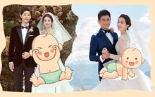 Cuộc chạy đua báo tin hỷ năm Mậu Tuất 2018: Đôi vợ chồng Hoa - Hàn quyền lực nào sẽ cán đích đầu tiên?