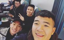 Các cầu thủ U23 được đón chào như thần tượng K-pop ở sân bay, nhanh chóng cập nhật hình ảnh đầu tiên ở Sài Gòn