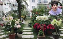 Khu vườn có đến hơn 300 gốc hoa Lan huệ đẹp như chốn thiên đường của người phụ nữ Hà Thành