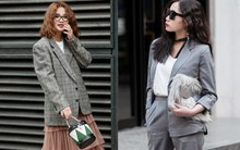 Diện blazer đẹp như các quý cô miền Bắc trong street style những ngày cuối tháng 2