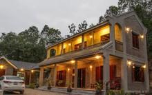 Ngôi nhà vườn hoài cổ với mái nhuốm màu thời gian bình yên giữa núi đồi Bắc Ninh