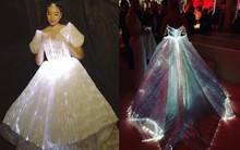 Không ánh kim hay đính đá nữa, giờ muốn nổi bật trên thảm đỏ các người đẹp Việt chọn đầm phát sáng