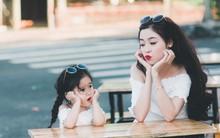 Bộ ảnh mẹ và con gái đều xinh như diễn viên khiến dân mạng không ngừng xuýt xoa khen ngợi