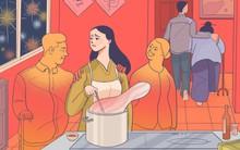 Tin lời mẹ chồng hứa nấu xong bữa lẩu tất niên sẽ cho về ngoại ăn Tết, tôi ngậm đắng nuốt cay nhận cái kết buồn
